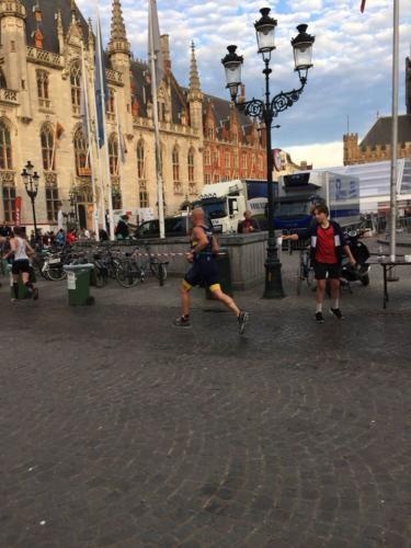 1/4 triatlon Brugge