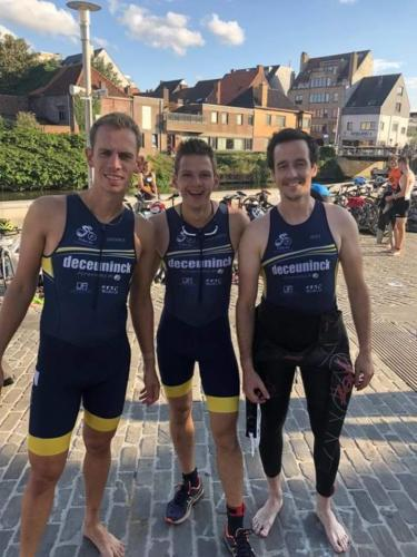 1/4 triatlon Deinze